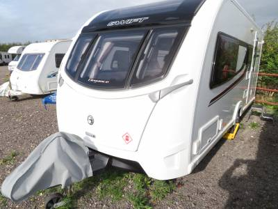 Swift Elegance 530 2015 4 Berth Caravan For Sale FSH