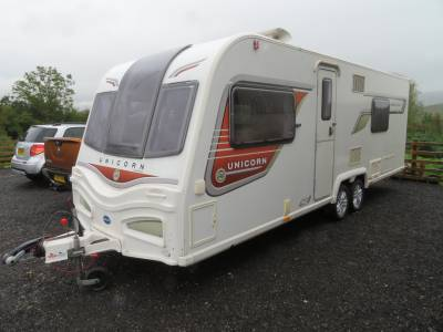 Bailey Unicorn Barcelona 2 2013 Caravan For Sale