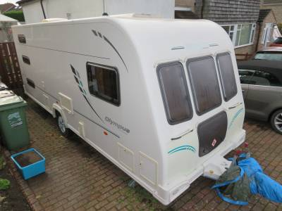 Bailey Olympus 546 2011 6 Berth Caravan For Sale