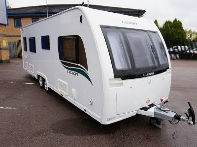 Lunar Lexon 640 End Washroom, Fixed singles caravan for sale