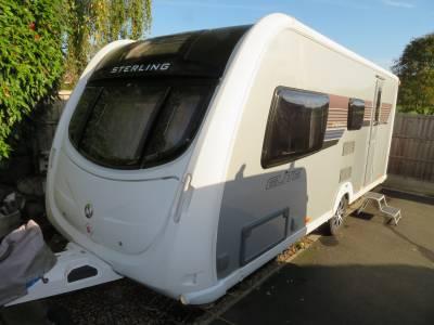 Sterling Eccles Elite Emerald 2012 4 Berth Caravan For Sale