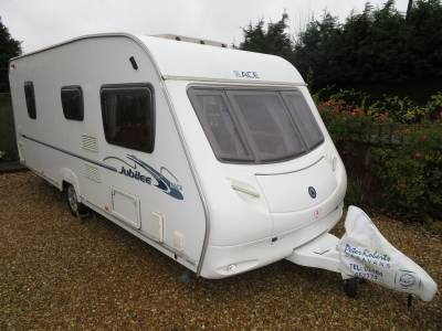 Ace Jubilee Aristocrat 2008 4 Berth Caravan Recently Serviced For Sale