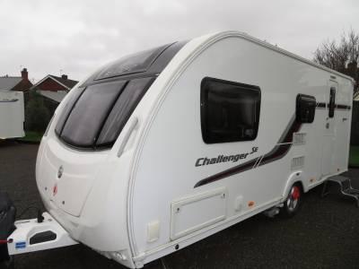 Swift Challenger 530 2014 4 Berth Caravan For Sale Alde