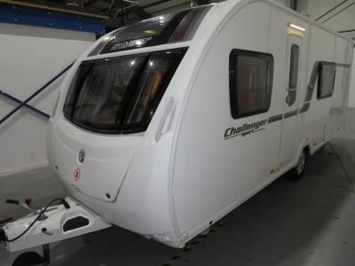 Swift Challenger Sport SR 554 2012 4 Berth Caravan For Sale