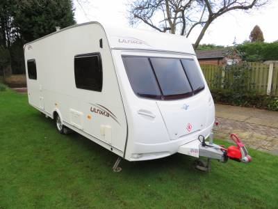Lunar Ultima 525 2009 5 Berth Caravan For Sale