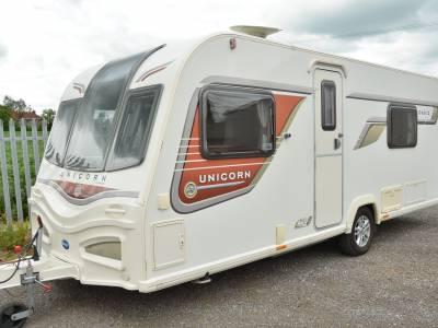 2014 4-berth Bailey Unicorn 2 Cadiz caravan for sale