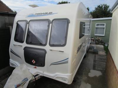 Bailey Pegasus 462 2 Berth U-Shape Lounge End Washroom Caravan for Sale