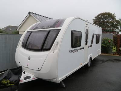 Swift Challenger Sport 514, 2012, Fixed rear bed, 4 berth