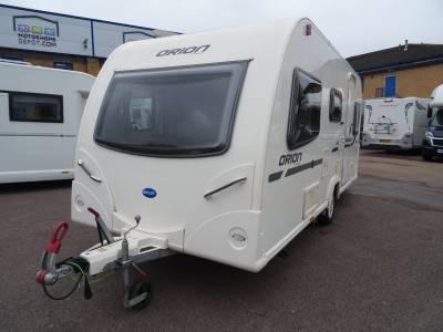 Bailey Orion 450-5 Triple Bunk L - Shape Lounge 5 Berth Caravan For Sale