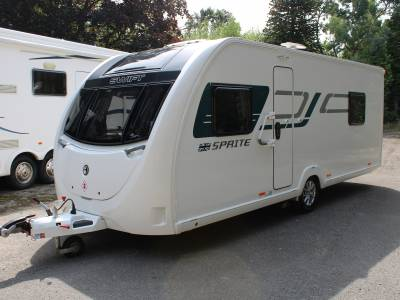 Swift Sprite Major 4EB 4 berth rear fixed bed caravan for sale