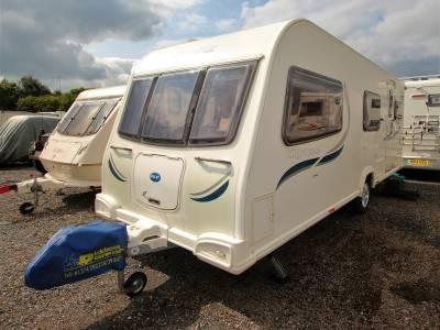 Bailey Olympus 540, 5 Berth, bunk beds, Caravan