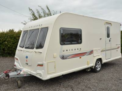 2-berth 2011 Bailey Unicorn Seville caravan for sale