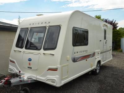 2-berth 2011 Bailey Unicorn Seville caravan for sale