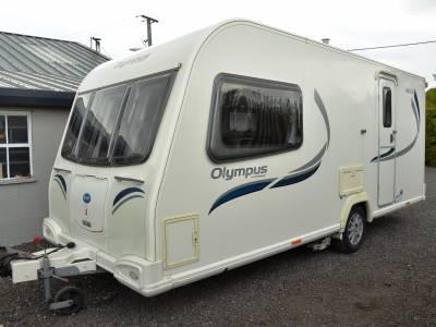 2012 4-berth Bailey Olympus 460-2 caravan DEPOSIT TAKEN