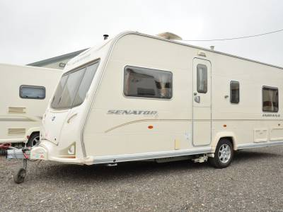 2008 Bailey Senator Indiana 4-berth caravan for sale