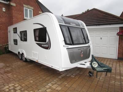 Elddis Avante 636 6 Berth End Washroom Bunk Bed Caravan For Sale