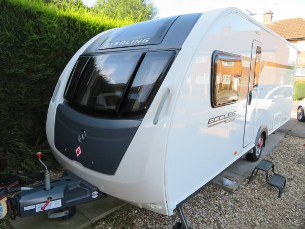 Sterling Eccles Sport 584 2015 4 Berth caravan for sale FSH