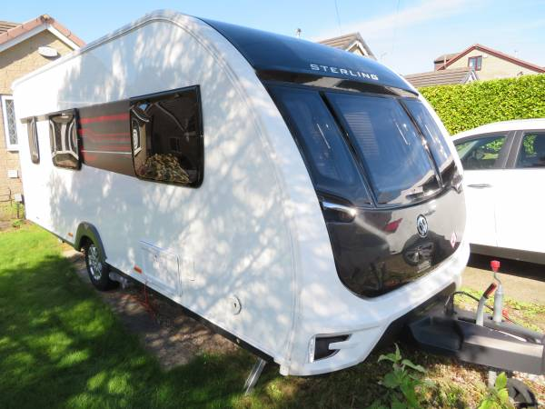 Sterling Eccles 530 2017 4 Berth Caravan For Sale