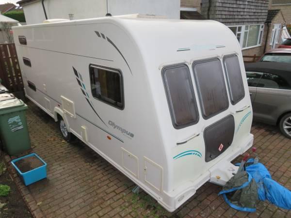 Bailey Olympus 546 2011 6 Berth Caravan For Sale