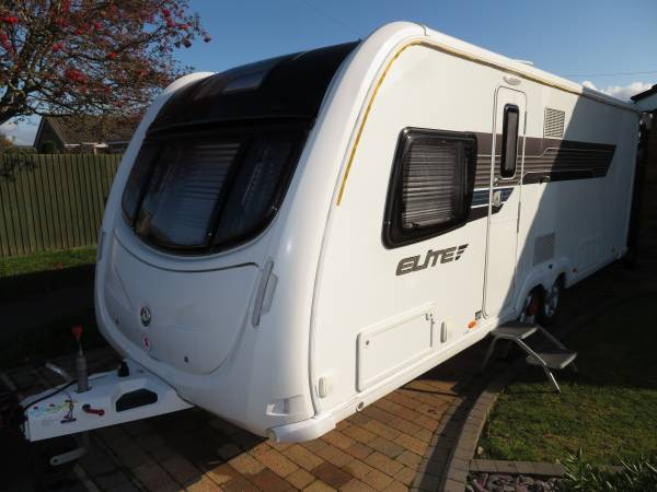 Sterling Eccles Elite Explorer 2014 4 Berth Caravan For Sale FSH