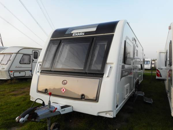 Elddis Crusader Storm 2016, 4 Berth Fixed Bed, End Washroom, Caravan For Sale