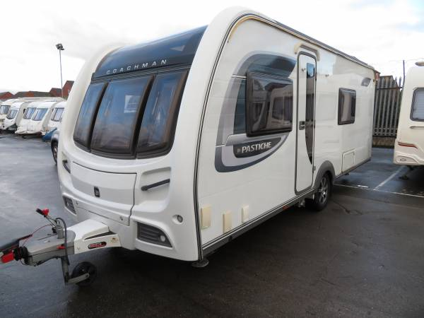 Coachman Platinum Pastiche 565 (Dealer Special) 4 Berth Caravan For Sale FSH