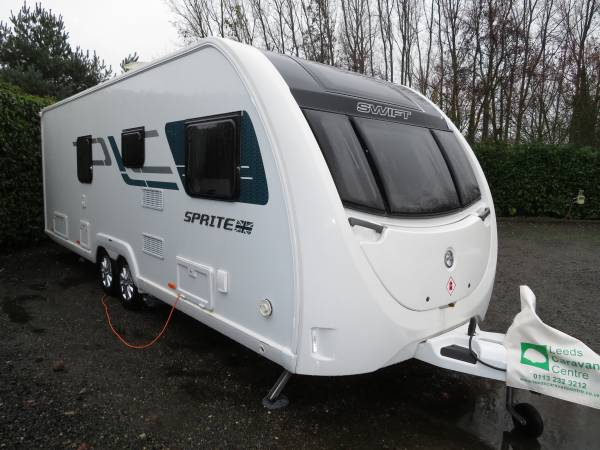 Swift Sprite Quattro EB 2018 4 Berth Caravan For Sale