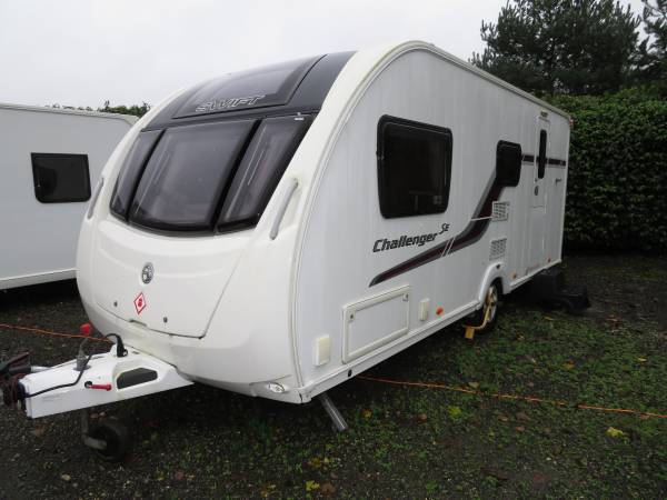 Swift Challenger 530 2014 4 Berth Caravan For Sale Alde heating