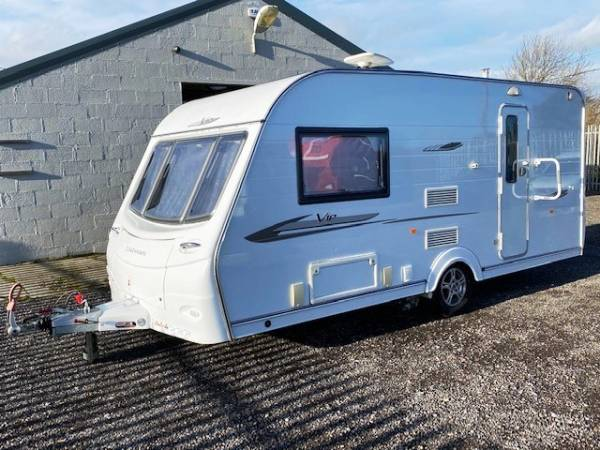 2011 2 Berth Coachman VIP 460/2 caravan for sale with end washroom