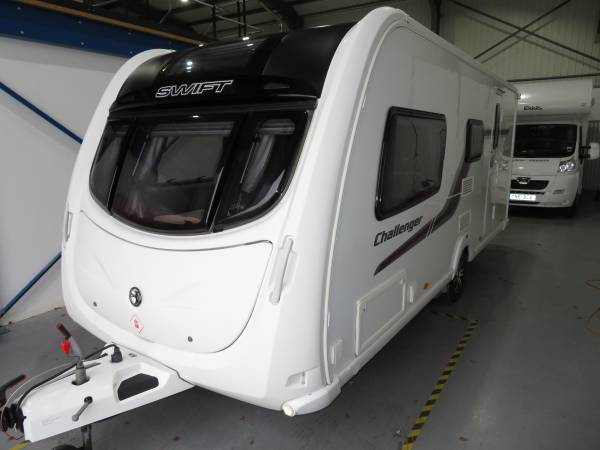 Swift Challenger 530 SR 2012 4 Berth Caravan For Sale