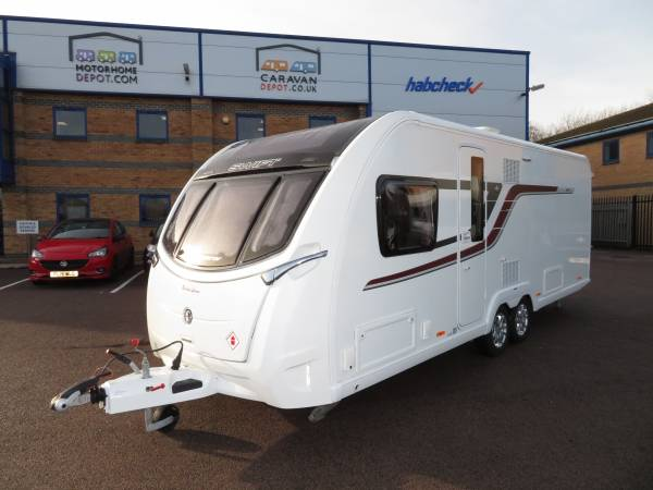 Swift Conqueror 645 2018 4 Berth Caravan For Sale (ALDE)