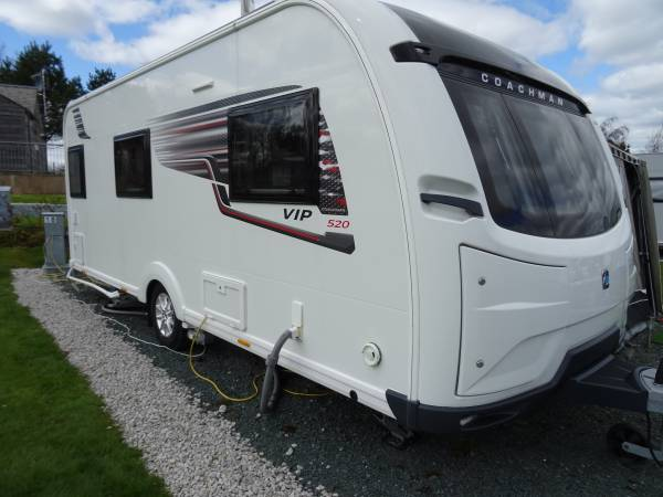 Coachman VIP 520/3 2018 3 Berth Luxury Caravan for Sale