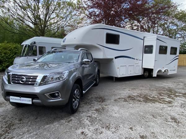 Celtic Rambler 5th wheel caravan to include 2017 Nissan Navara for sale