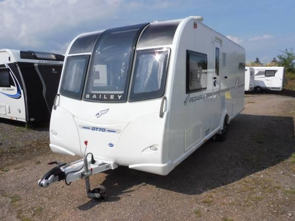 Bailey Pegasus GT70 Brindisi 4 berth fixed bed caravan for sale