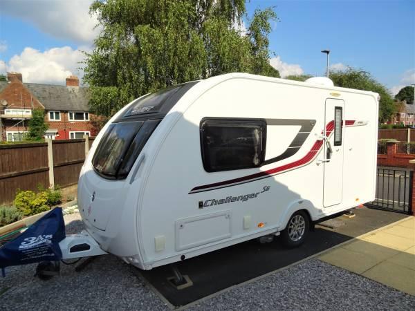 Swift Challenger SE 480 2 Berth Rear Washroom Caravan For Sale
