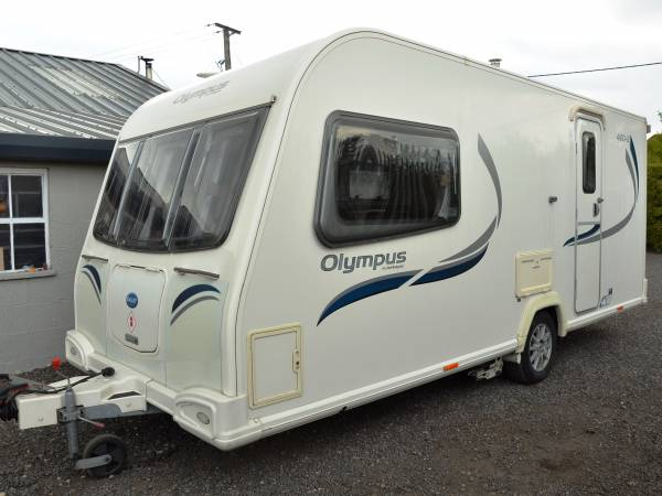 2012 4-berth Bailey Olympus 460-2 caravan for sale